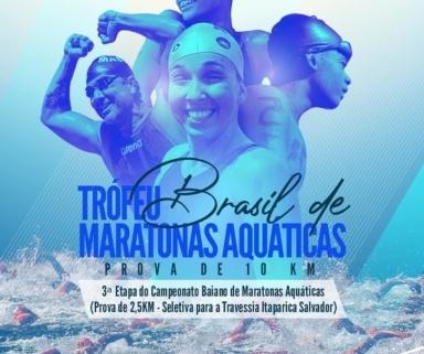 Troféu Brasil de Águas Abertas será domingo em Salvador - Best Swimming